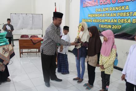 Lomba CCA dan Hafalan dalam meningkatkan prestasi bidang keagamaan