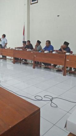 Bimtek peningkatan kapasitas BPD Dan LKD Desa Bantul