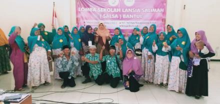 Lomba Sekolah Lansia Salimah (Salsa) Bantul