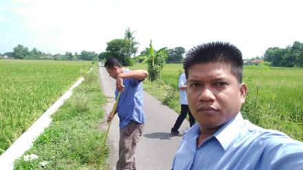 Pengukuran Ulang Kegiatan Pengaspalan Jalan Desa Ruas Mandingan -Kurahan