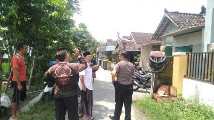 Inspeksi ke Rumah Bapak Jumingan Sabrangkali Rt 07