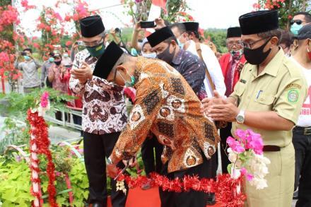 Syukuran dan Peresmian Jembatan Gantung Nawacita Tegaldowo